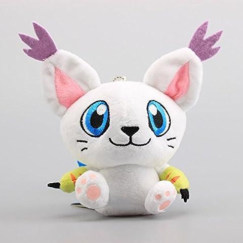 Digimon Digital Monster Adventure Tailmon 4.5 Inch Toddler Stuffed Plush Kids Toys (Digimon Tailmon)