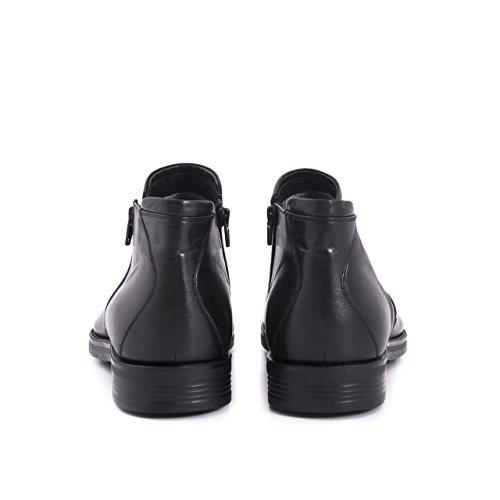 Mocassini Mannen Echt Leren Laarzen Enkellaars Klassieke Lederen Laarzen Lederen Schoen Rits