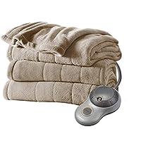 Sunbeam Heated Electric Microplush Blanket with 10 heat settings