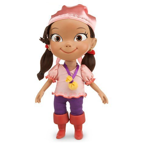 Disney Talking Izzy Neverland Pirates Doll 12