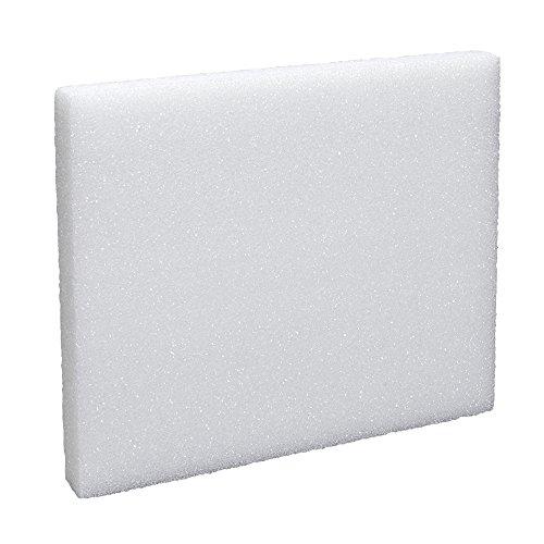 Arranger Block Styrofoam (FloraCraft Styrofoam Block 1.1 Inch x 9.8 Inch x 11.8 Inch White)