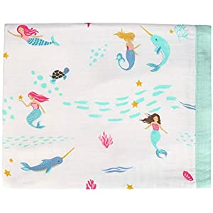 41jWHoscInL._SS300_ Mermaid Crib Bedding and Mermaid Nursery Bedding Sets