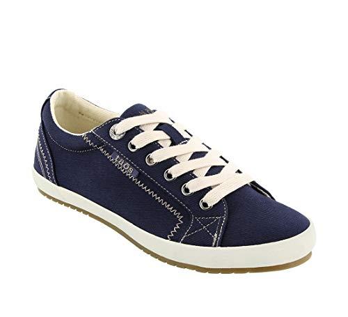 Taos Footwear Women's Star Fashion Sneaker, Navy, 8.5 M US