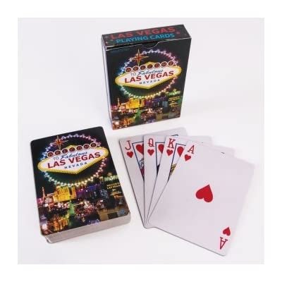 Forum Novelties 75782 WELCOME TO FABULOUS LAS VEGAS SIGN PLAYING CARDS (ONE DECK), standard, Multicolor, Pack of 1: Toys & Games