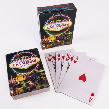 (Forum Novelties 75782 WELCOME TO FABULOUS LAS VEGAS SIGN PLAYING CARDS (ONE DECK), standard, Multicolor, Pack of 1)