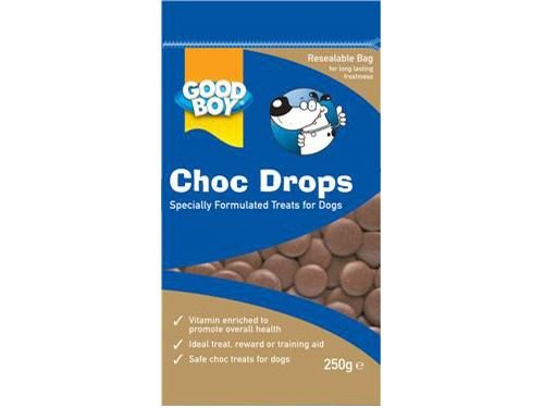 (4 Pack) Armitage - Good Boy Choc Drops - Pouch Pack 250g