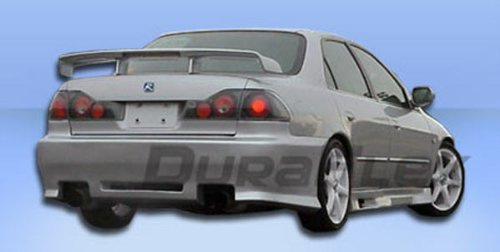 Duraflex Replacement for 1998-2002 Honda Accord 4DR Spyder Rear Bumper Cover - 1 Piece ()