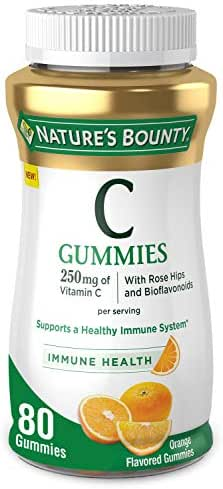 Vitamins & Supplements: Nature's Bounty Vitamin C Gummies