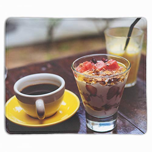 Afternoon Tea Non-Slip Rubber Mouse Pad Gaming Mouse Pad 11.8