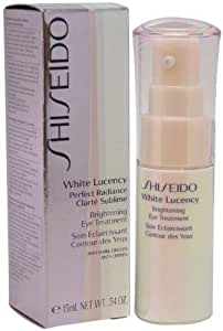 Shiseido White Lucency Perfect Radiance Brightening Eye Treatment Dark Circle Eye Treatments, 0.54 oz
