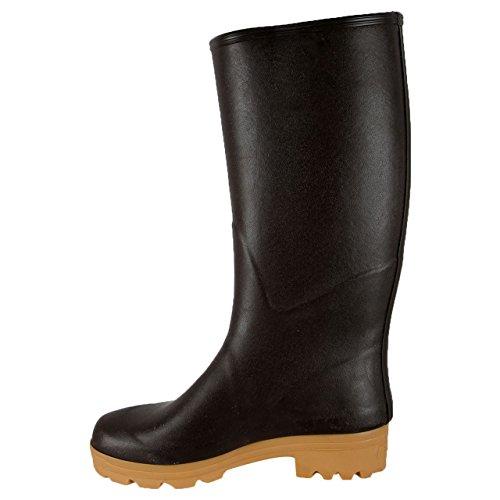 Aigle Chambord Pro L2marrón–Botas de goma para mujer Marrón