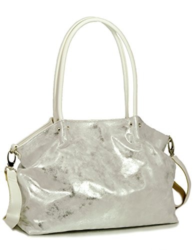 sr-squared-by-sondra-roberts-soft-metallic-tote-white-silver-one-size