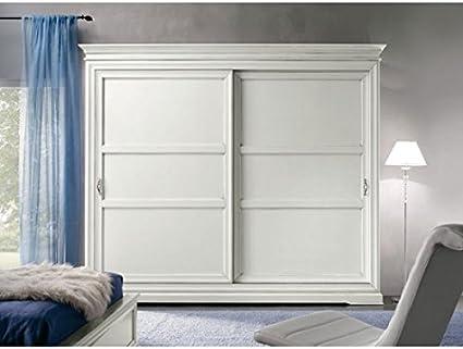 Armario puertas correderas Varios colores madera l 300 p 68 H 255 ...