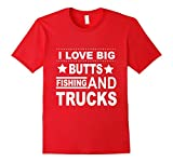 I love fishing and trucks T-sh