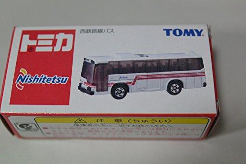 1/130 西鉄路線バス 三菱ふそう ワンマンバス(ホワイト) 「トミカ」