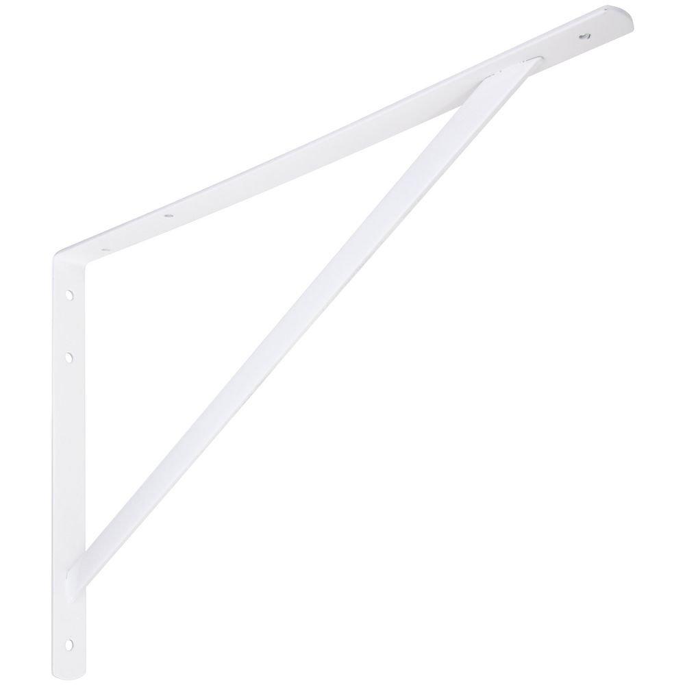 National Hardware N260-604 111BC Super Strength Shelf Bracket in White
