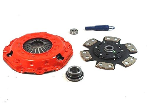 Honda Passport Clutch Kit - Clutch Kit Works With Honda Passpor Isuzu Amigo Rodeo 1993-2000 2.2L l4 GAS DOHC 2.6L l4 3.2L V6 GAS SOHC Naturally Aspirated (Fits Borg Warner Transmission 2 pc bell housing only 9