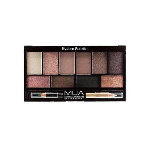 MUA Eyeshadow Palette - Elysium (Pack of 6) - のアイシャドウパレット - エリュシオン x6 [並行輸入品] B071DQ7D55