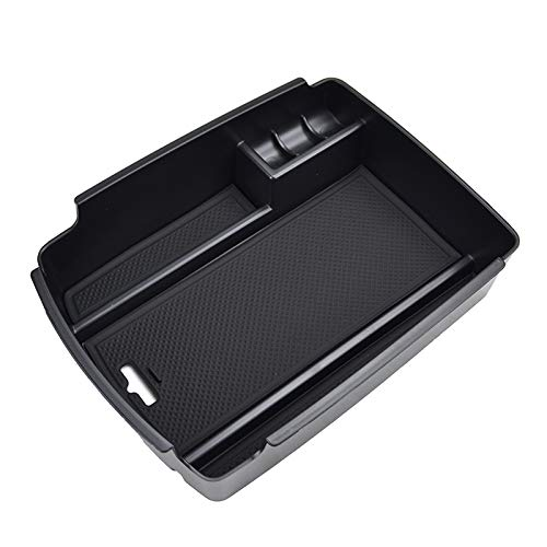 XUKEY bracciolo Storage Box KIA Sportage a Drive 2016/2017/2018/Center Console Bin Guanto Supporto del Vassoio di Pallet riporre Oggetti di Auto