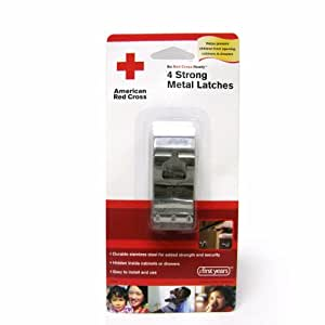 American Red Cross Ultra Strong Metal Safety - 4 Pack (Discontinued by Manufacturer)