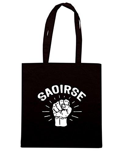 T-Shirtshock - Bolsa para la compra TIR0205 st patricks day dark tshirt Negro