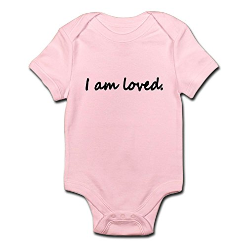 CafePress loved Infant Bodysuit Romper