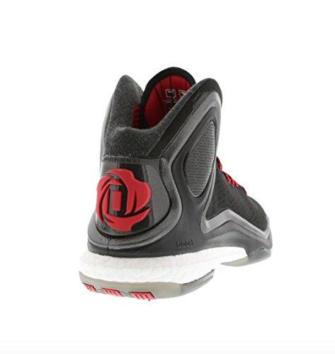 adidas Scarpa basket D Rose 5 Boost NERO - ROSSO