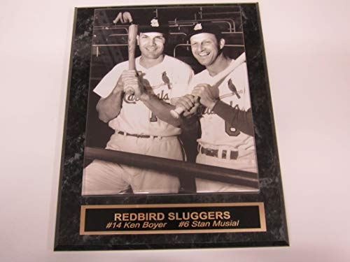 - Ken Boyer Stan Musial St Louis Cardinals Collector Plaque w/ 8x10 Photo!