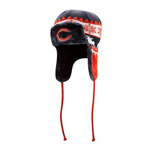自分の力ですべてをするヘリコプター誠実さChicago Bears New Era NFL MooseトラップニットTrooper Hat