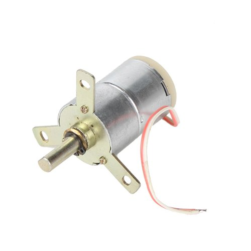 High Torque 12V DC 25 RPM Gear-Box Stabilivolt Electric Motor Replacement