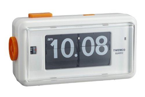 TWEMCO パタパタクロックBX AL-30-WH B005PVO9G0