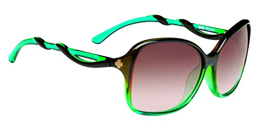 Spy Fiona Sunglasses, Mint Chip Fade/Happy Bronze Fade, 61 - Cheap Glasses Spy