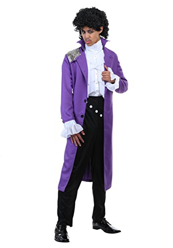 Purple Rock Legend Costume X-Large