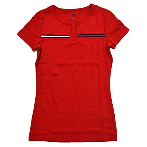 Tommy Hilfiger Womens Split Neck T shirt