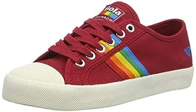 Gola Womens CLA671 Coaster Rainbow Red Size: 0