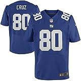 Mens Sports Giants Cruz 80# Royal Blue Elite Jersey Medium