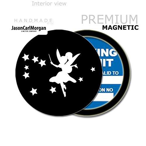 JCM Fairy MOT License Tax Disc Permit Holders, Black JasonCarlMorgan