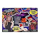 Tattoo Body Art with Realistic Vibrating Tattoo Machine for Kids Easy, Safe & Washable Kit