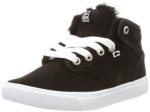 GlobeMotley Mid - zapatillas de skateboard niños negro - Noir (10836)