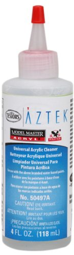 Aztek 50497AAcrylic Airbrush Cleaner, 4-Ounce Testors Home