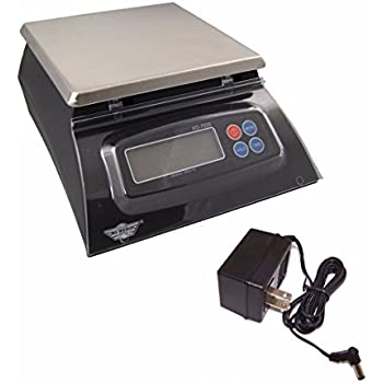 My Weigh KD-7000 Kitchen And Craft Digital Scale, Black + My Weigh AC Adapter