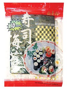 Yama Moto Yama Sushi Nori Sheet (Roasted Seaweed) - 30 Sheet Pack ()
