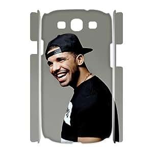 DIY Samsung Galaxy S3 I9300 Case, Zyoux Custom New Design 3D Samsung Galaxy S3 I9300 Plastic Case - Drake