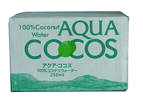 Coconut water 250mlX20 this by Aqua Cocos