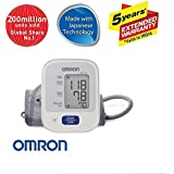 Omron Automatic Blood Pressure Mointor HEM-7121 With Omron AC-Adapter-S for Blood Pressure Monitor - 6 Volts (Health Care Combo Pack)