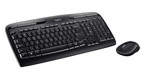 9a37ff9ffb4 Logitech K330 Wireless Desktop Keyboard and Wireless Mouse Combo -  Entertainment Keyboard and Mouse, 2.4GHz Encrypted Wireless Connection,  Long Battery Life ...