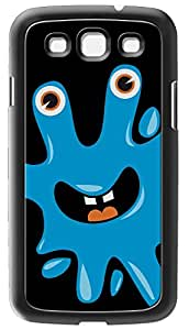 Modelabs COVMONSTER1GS3 funda para teléfono móvil - fundas para teléfonos móviles Negro, Azul