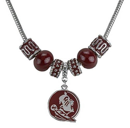Florida State Seminoles Charm Logo Necklace (Logo Charm State Seminoles Florida)
