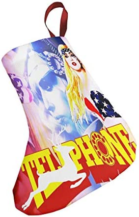 クリスマスの日の靴下 (ソックス3個)クリスマスデコレーションソックス Lady Gaga クリスマス、ハロウィン 家庭用、ショッピングモール用、お祝いの雰囲気を加える 人気を高める、販売、プロモーション、年次式