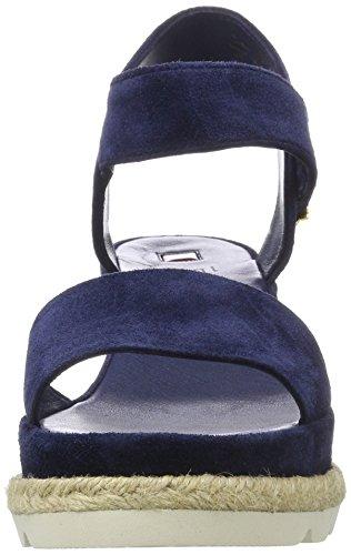 3252 Högl Bleu Navy3100 3 3100 10 Compensés Femme Sandales qq6BEWU